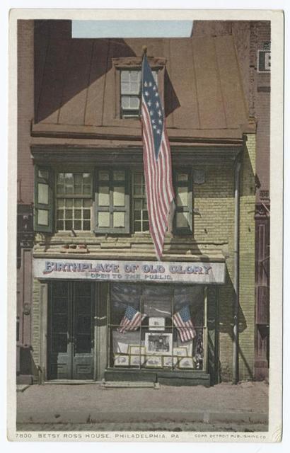 Betsy Ross House, Philadelphia, Pa.