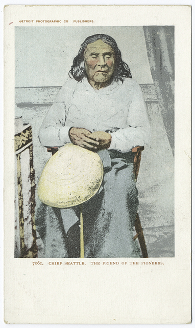 Chief Seattle, Friend of the Pioneers, Washington