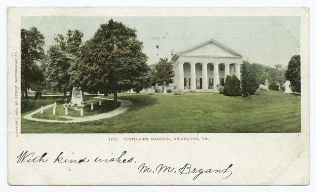 Custis-Lee Mansion, Arlington, Va.