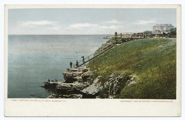 Forty Steps, Cliff Walk, Newport, R. I.