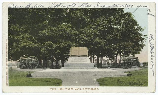 High Water Mark, Gettysburg, Pa.