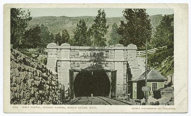 Hoosac Tunnel, West Portal, North Adams, Mass.