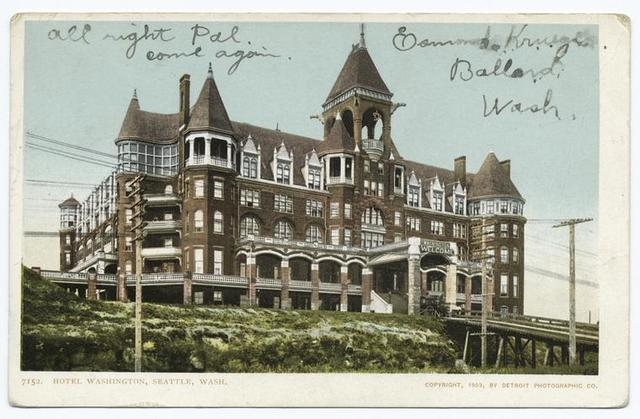 Hotel Washington, Seattle, Wash.