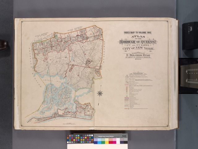 Index Map to Volume One