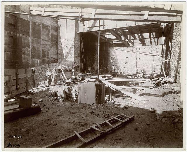 Interior work.