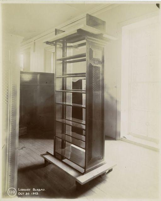 Library Bureau [stack sample].