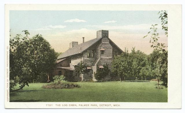 Log Cabin, Palmer Park, Detroit, Mich.