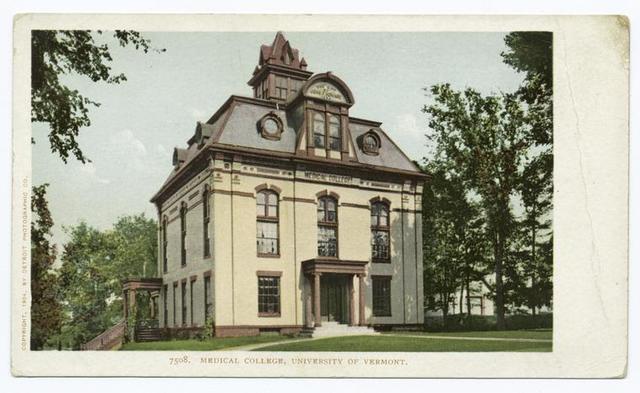 Medical College, Univ. of Vermont, Burlington, Vt.