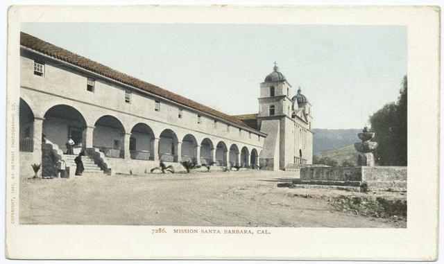 Mission  Santa Barbara, California