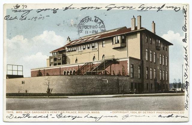 Mrs. Jack Gardiner's Venetian Palace, Boston, Mass.