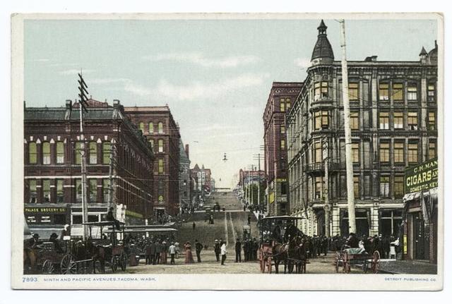 Ninth and Pacific Avenues, Tacoma, Wash.