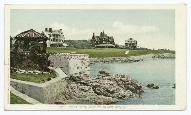 Ocre Point, Cliff Walk, Newport, R. I.