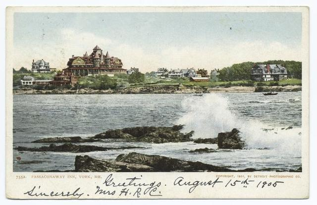 Passaconaway Inn, York Beach, Me.