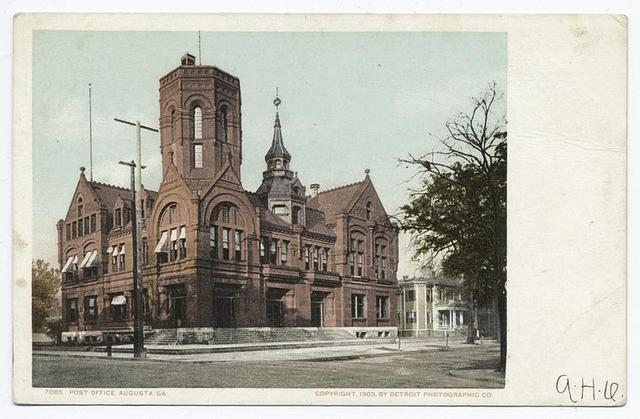 Post Office, Augusta, Ga.