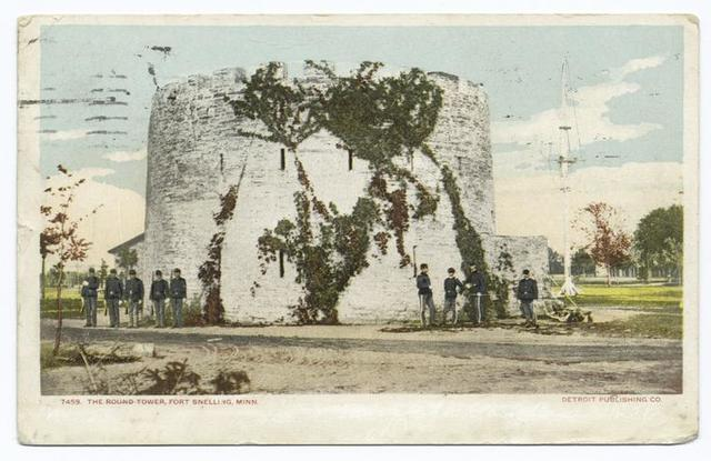 Round Tower, Fort Snelling, Minn.