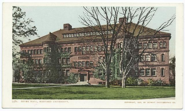 Sever Hall, Harvard Univ., Cambridge, Mass.