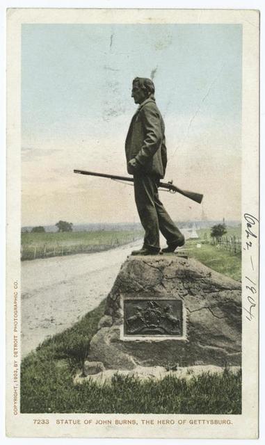 Statue of John Burns, Gettysburg, Pa.