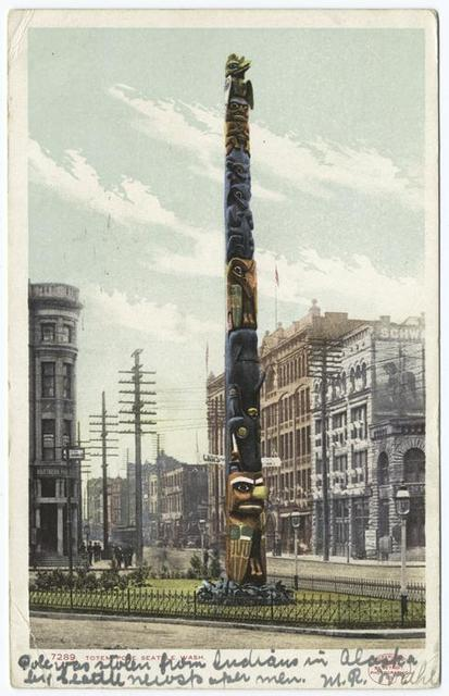 Totem Pole, Seattle, Wash.