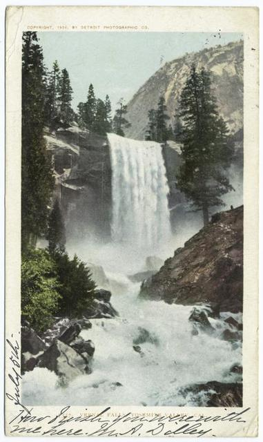 Vernal Falls, Yosemite Valley, Calif.