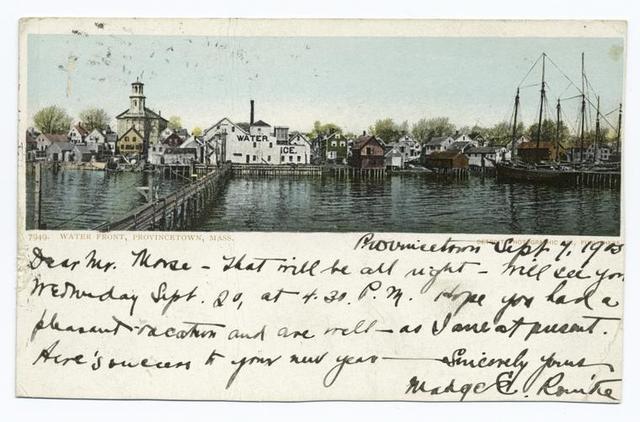 Waterfront, Provincetown, Mass.