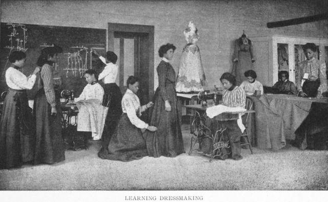 Learning dressmaking