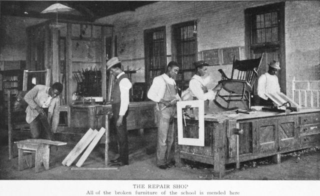 The repair shop - New York Public Library's Public Domain Search