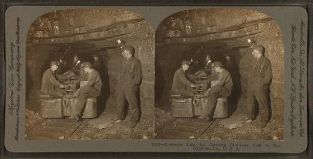 Conveyer line for carrying bird's-eye coal to bin, Scranton, Pa., U.S.A.