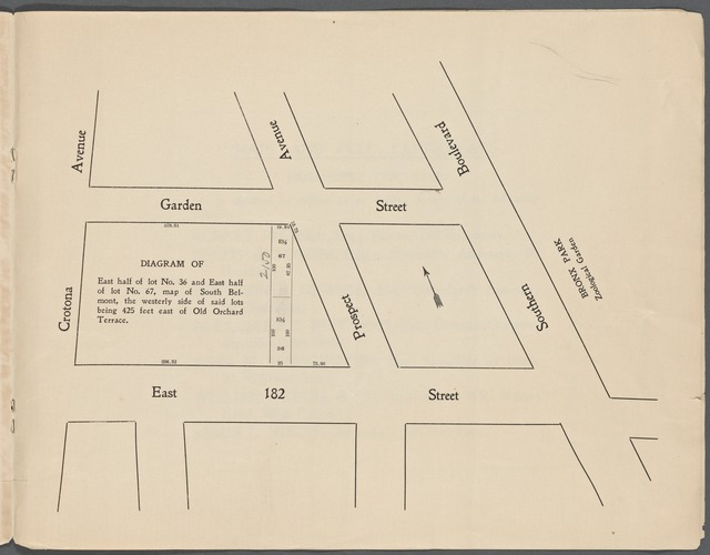 Supreme Court Partition Sale. Estate of John A. and Mary E. Woolf. 110 Bronx Lots on and Near the Grand Boulevard and Concourse [Title only]
