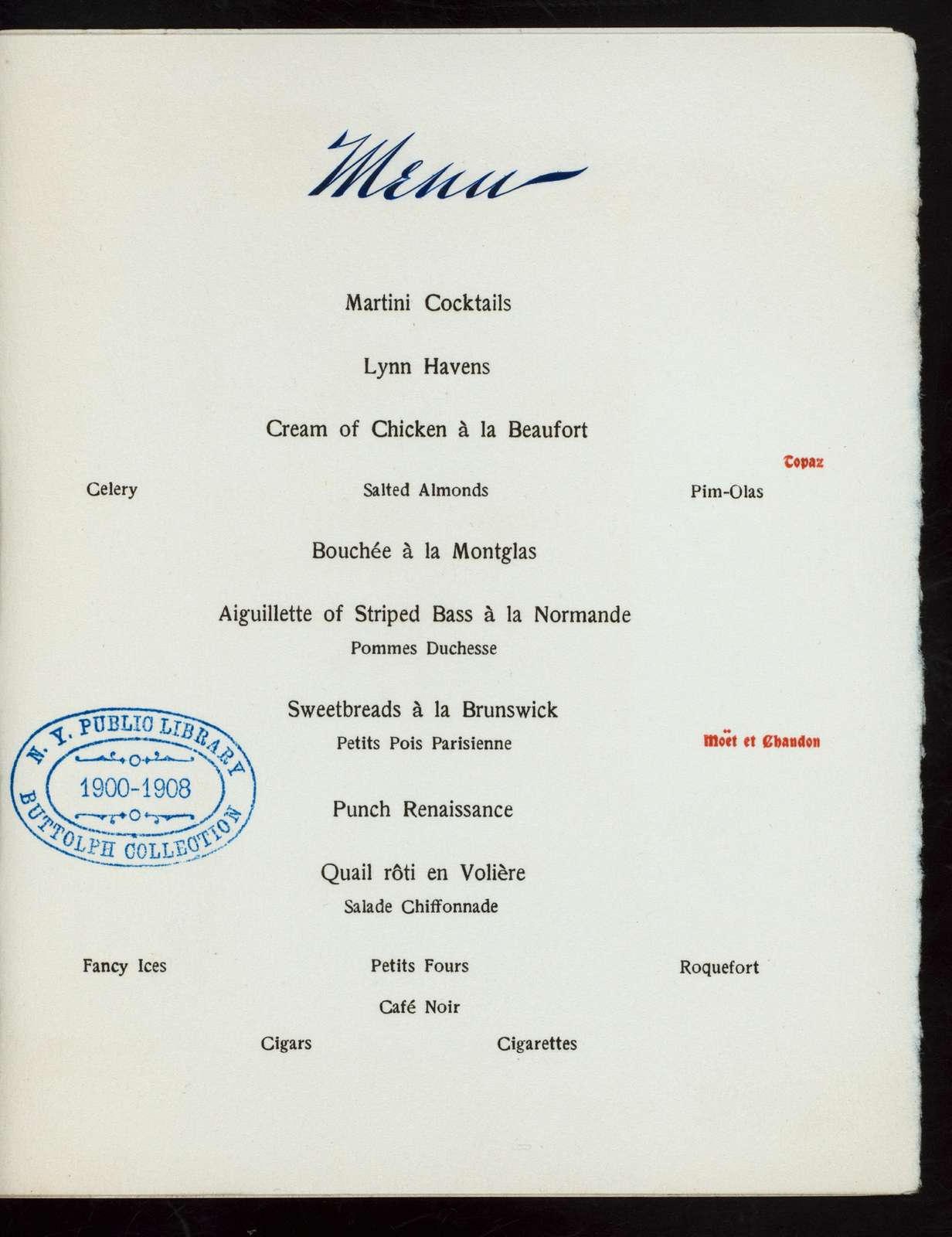 """FELLOWSHIP BANQUET [held by] COLUMBIA GOLF CLUB [at] """"THE RALEIGH, WASHINGTON, D.C."""" (HOTEL;)"""