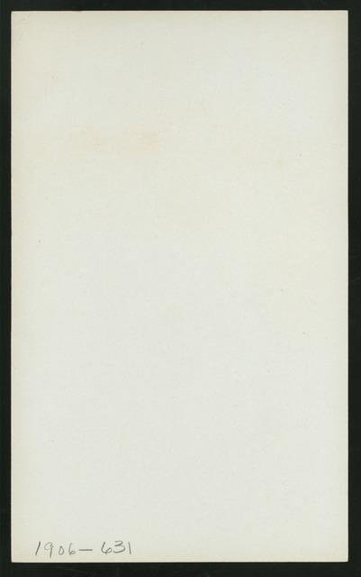 "MITTAG-ESSEN [held by] HAMBURG-AMERIKA LINIE [at] ""AN BORD DER """"AMERIKA"""""" (SS;)"