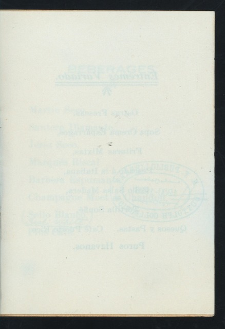 "WELCOME TO MR. JOHN SKELTON WILLIAMS AND PARTY [held by] FLORIDA STATE FAIR [at] ""[GRAND ORIENT?], YBOR CITY, FL"" ([HOTEL?];)"