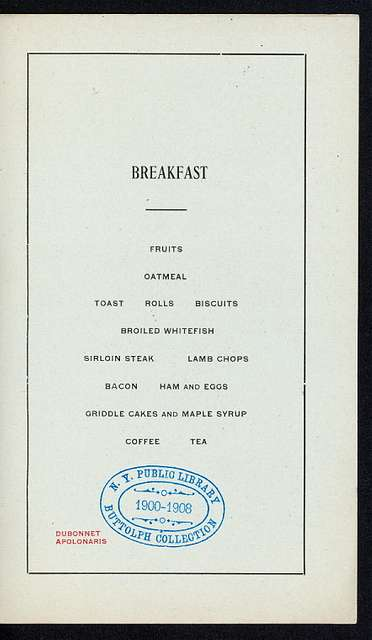 """BREAKFAST TO GOV.OF THE MISSIPPI VALLEY [held by] BUSINESS MEN'S LEAGUE OF ST.LOUIS [at] """"ON BOARD """"""""ALTON"""""""""""" (SS;)"""