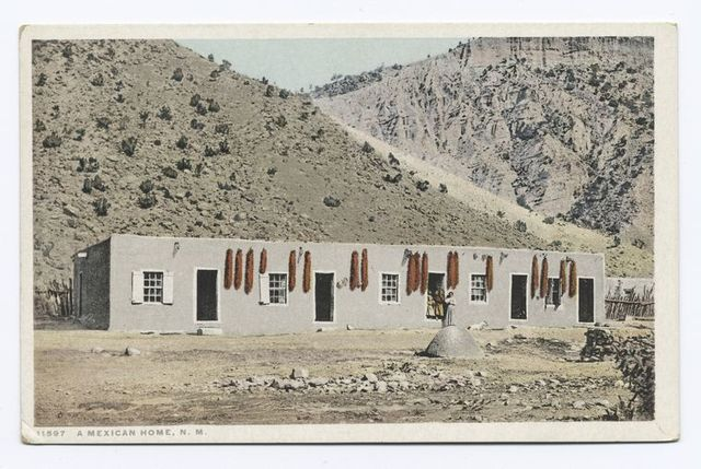 A Mexican Home, New Mexico