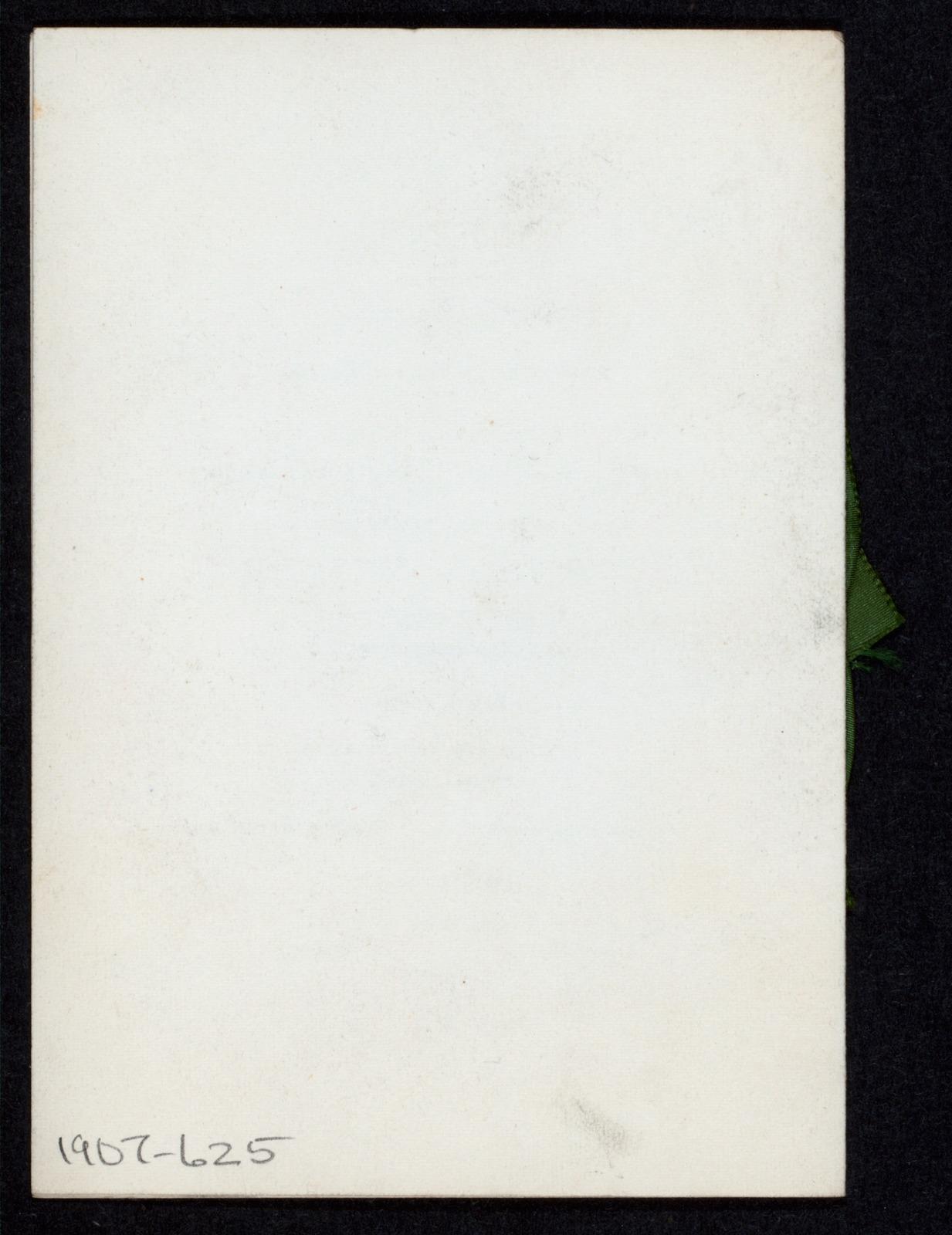 "DECENNIAL DINNER [held by] HARVARD NINETY SEVEN [at] ""VENDOME HOTEL, BOSTON, MA"" (HOTEL;)"