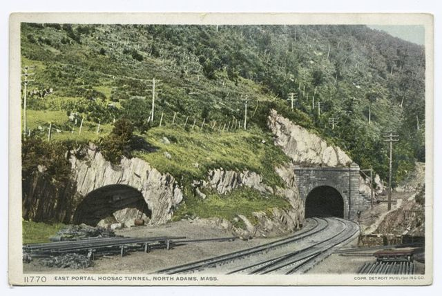 East Portal, Hoosac Tunnel, North Adams, Mass.