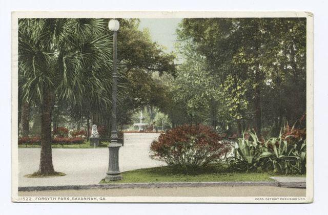 Forsyth Park, Savannah, Ga.