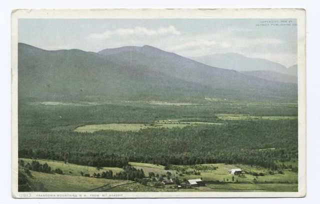 Franconia Mountains from Mt. Agazziz, New Hampshire