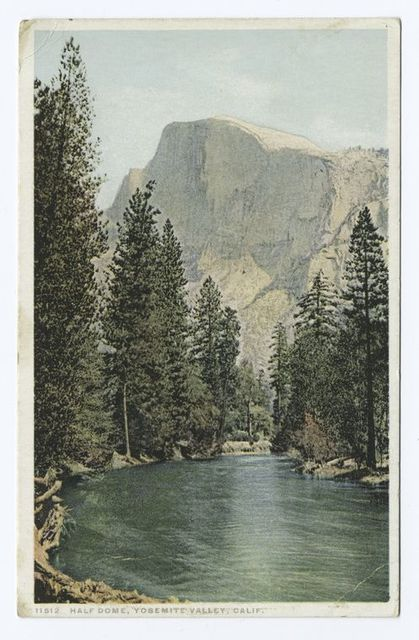 Half Dome, Yosemite Valley, Calif.