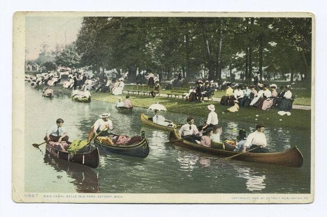 Main Canal, Belle Isle Park, Detroit, Mich.