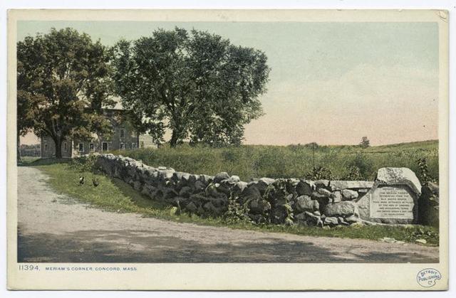 Meriam's Corner, Concord, Mass.