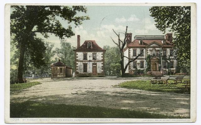 Mt. Pleasant, Benedict Arnold Mansion, Fairmount Park, Philadelphia, Pa.