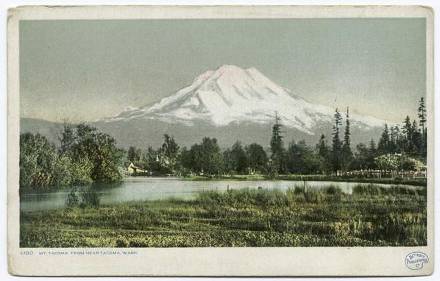 Mt. Tacoma, near Tacoma, Wash.