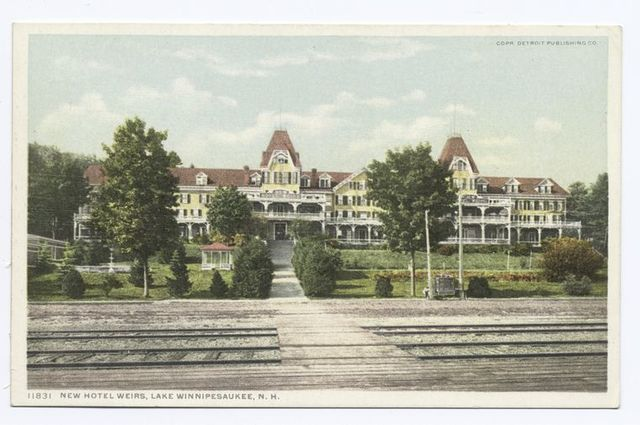 New Hotel Weirs, Lake Winnipesaukee, N.H.