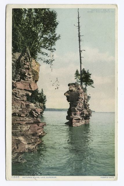 Pictured Rocks, Lake Superior, Michigan