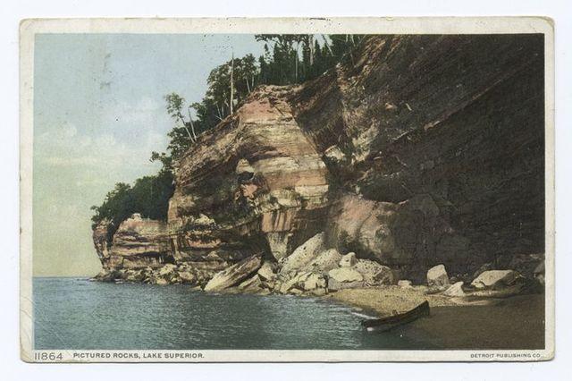 Pictured Rocks, Lake Superior, Michigan