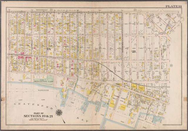 Plate 14: [Bounded by 86th Street, W. 11th Street, 27th Avenue, Warehouse Avenue & 20th Avenue.]