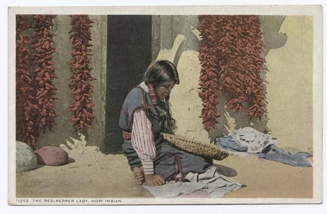 Red Pepper Lady, Hopi
