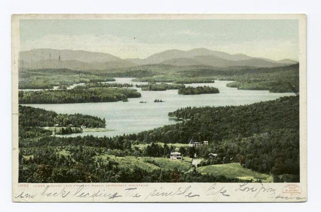 Saranac from Mt. Pisgah, Saranac Lake, N.Y.