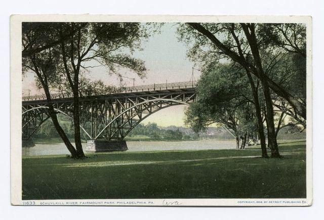 Schuylkill River, Fairmount Park, Philadelphia, Pa.