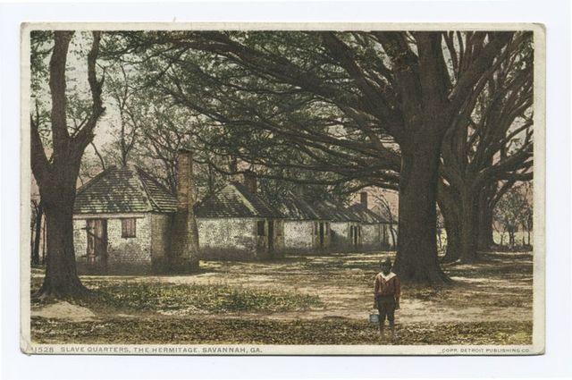 Slave Quarters, Hermitage, Savannah, Ga.